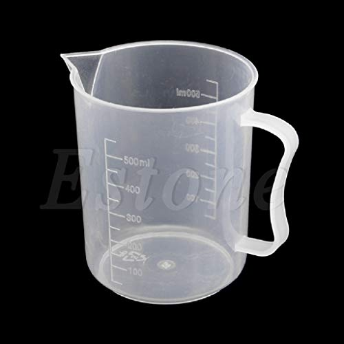 MOMU 150/250/500/1000/2000ML Plastic Measuring Cup Jug Pour Spout Surface Kitchen 1Pc