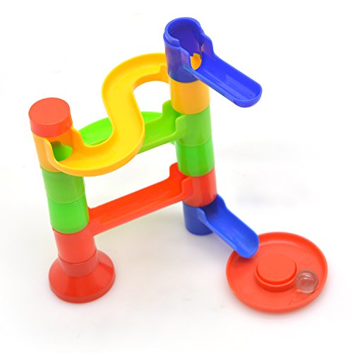 Building Toys Teens : Pcs diy building blocks track run race tower marble ball