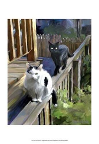 Robert Mcclintock - Cats Fencing ()