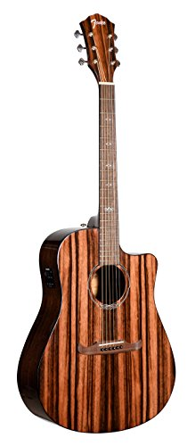 Fender T-Bucket 400CE Striped Ebony FSR Acoustic Electric Guitar