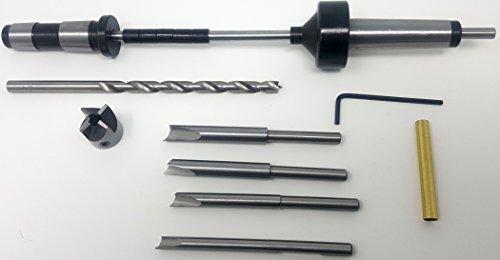 Pen Mandrel - #2MT Pen Turning Mandrel and Deluxe Barrel Trimmer Kit
