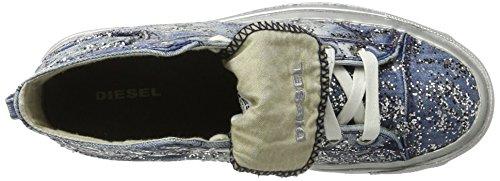 Donne Diesel Magneti Esposizione Iv W Snea Y00638 Alta Sneaker Blu (indaco)