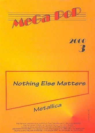 Nothing else matters: Edición individual para piano con texto y ...
