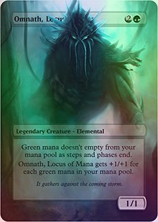 Amazoncom Omnath Locus Of Mana Casual Play Only Customs