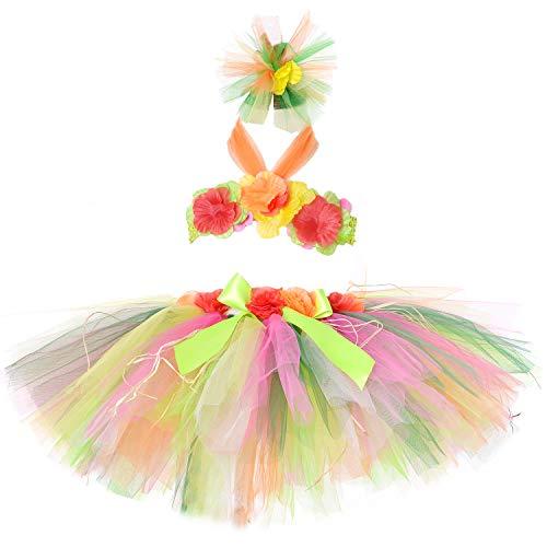 Hawaiian Hula Outfits - Tutu Dreams Hawaiian Hula Luau Skirt