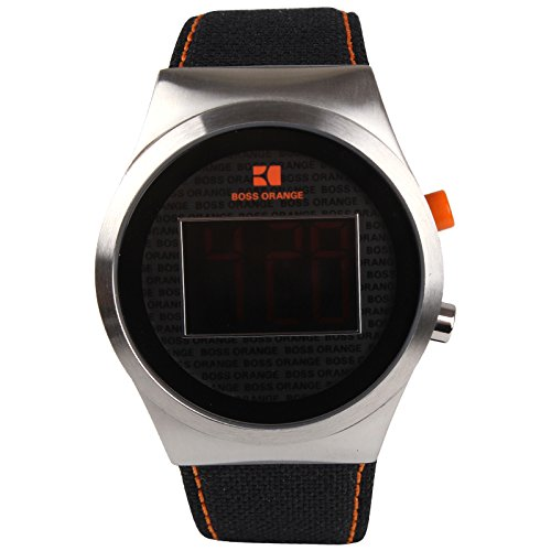 Hugo Boss 1512759 Orange Collection Nylon - Correa para Reloj de Pulsera Hombre