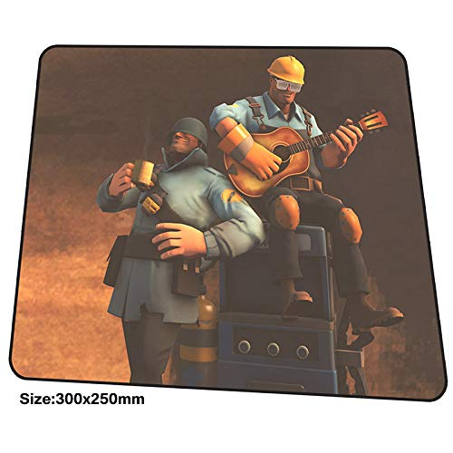 XIAOXIANNV Team Fortress 2 Mouse Pad 300X250Mm Mousepads Best Gaming Mousepad Gamer Hot Sales Large Personalized Mouse Pads Cute Pc Pads