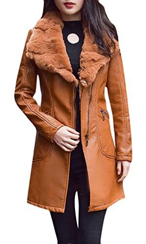 maxi dress and moto jacket - 7