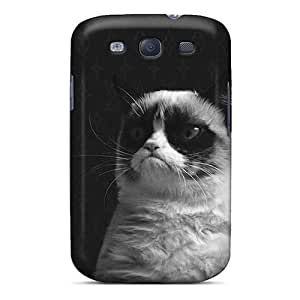 Galaxy S3 Case Slim [ultra Fit] Grumpy Cat Protective Case Cover