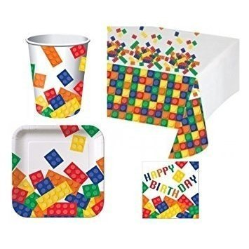 Building Blocks Deluxe Party Pack