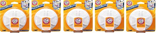 Arm & Hammer 33200-01710 Baking Soda Fridge Fresh Air Filter, 0.28 oz (Pack of 8) (5-(Pack)) by a. (Image #1)
