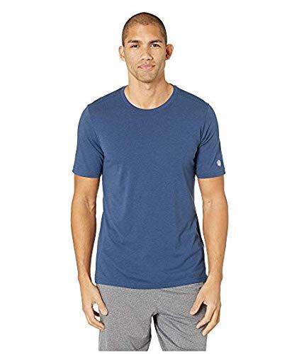 [Asics(アシックス)] メンズウェアジャケット等 Run Short Sleeve Top Dark Blue Heather US SM (S) [並行輸入品]   B07P6LCP4Y