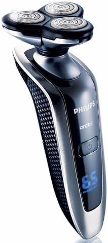 Philips arcitec RQ1090/19 - Afeitadora (Máquina de afeitar de rotación, Negro, Acero inoxidable, Fibra de carbono, Acero inoxidable, LED, Batería, 1 h): Amazon.es: Hogar