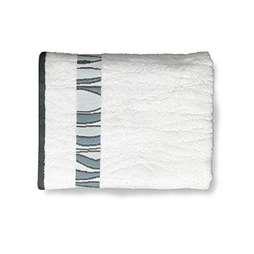 - Shell Rummel Bath Towels, Butterfly Collection, 3-Piece Set, White