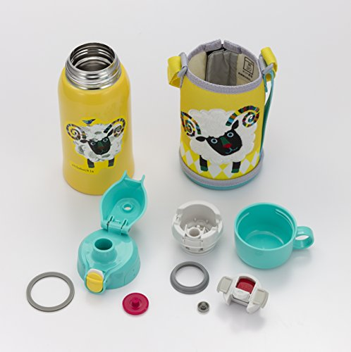 TIGER stainless bottle Sahara 2WAY sheep MBR-A06GY (japan import) by Taigamahobin (TIGER) by Taigamahobin (TIGER) (Image #3)