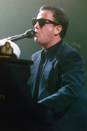 Billy Joel At Piano In Concert Color 24X36 -