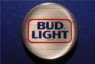 BUD LIGHT BEER GOLF LOGO ON A DOLLAR LIBERTY COIN Challenge Collectible  Lucky Coin U.S. Or