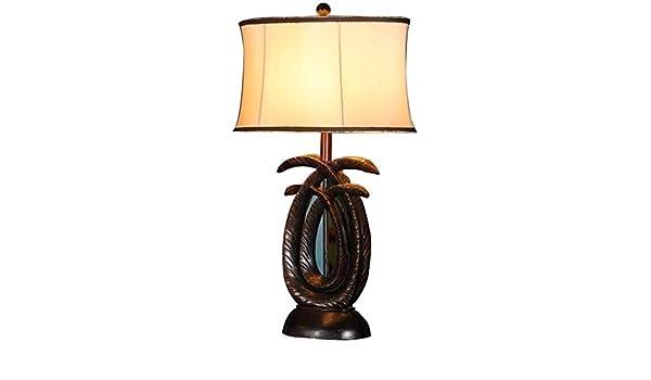LCK Lámpara de mesa, lectura Ideal Light-americano del estilo del ...