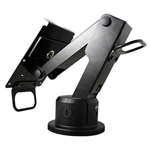 MMF POS Wheelchair Accessible Payment Terminal Mount for Verifone/Moneris MX915, Pax PX7, Rear Cable Routing (MMFPSL95W04) (Industries Wire Mmf)
