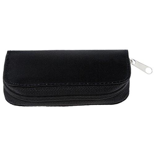 SODIAL(R) Cartera sostenedor bolso caja de 22 ranuras para SD SDHC MMC CF mini SD Tarjeta de memoria