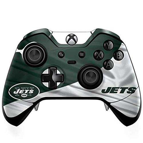 Skinit New York Jets Xbox One Elite Controller Skin - Officially Licensed NFL Gaming Decal - Ultra Thin, Lightweight Vinyl Decal -