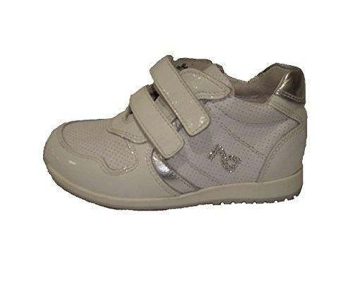 Nero Giardini Junior , Chaussures premiers pas pour bébé (fille) Naplak bianco -