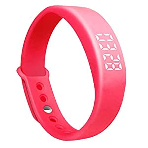 EFO-S BlACK Upgrated V5 Smart Wireless Intelligent Convenient Stylish Wrist Wristband Pedometer Calorie Thermometer Smart Fitness Watch Bracelet