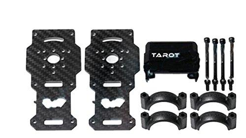 Tarot TL96026-01 Diameter 25MM Carbon Fiber Models Motor Mounts for Helicopter