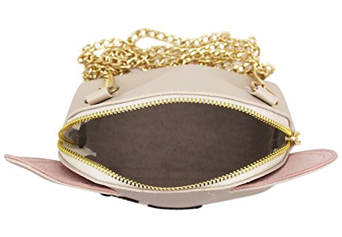 Purse Chain Cute Bag Satchel Kids Leather for Girls Shoulder Cuddty Bag Dog Small Crossbody Faux x1tPU