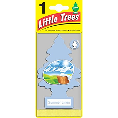 Little Trees 吊下げ式 芳香剤 エアーフレッシュナー サマーリネン 6枚入 U6P-60574 B00UWS2LN4  - -