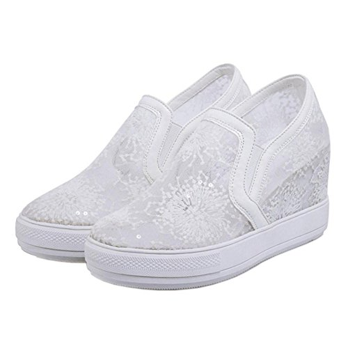 White Cuna de Zapatillas Tacon Coolcept Mujer de Para wqIpOA0B
