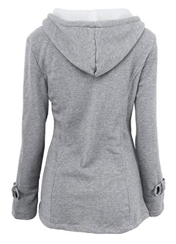 2 EKU Thicken Winter Coat Cotton Jacket Women's nq84qHwZ