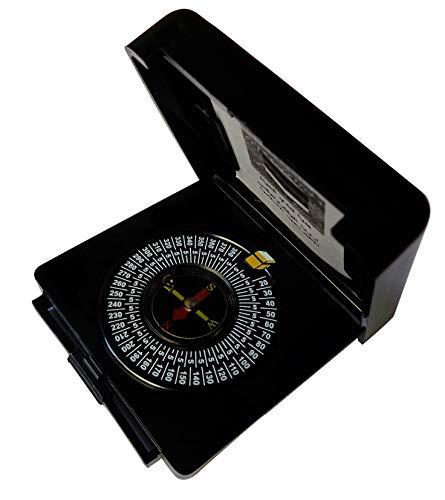 Qibla Compass Islamic Pocket Portable Prayer Kibla Direction Finder Travel Camping Mecca Makkah Kaaba W/book Muslim Islam Gift 374