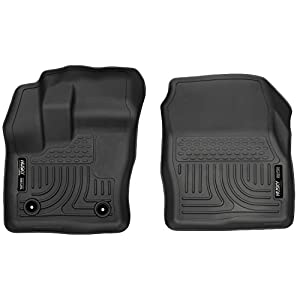 Husky Liners Front Floor Liners Fits 14-19 Transit Connect