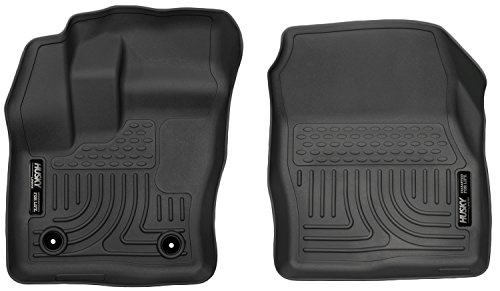 Husky Liners Front Floor Liners Fits 14-16 Transit Connect