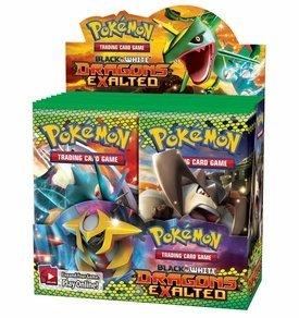 Pokemon Black & White Dragons Exalted Trading Card Game Booster BOX 36 Decks by Pokemon USA