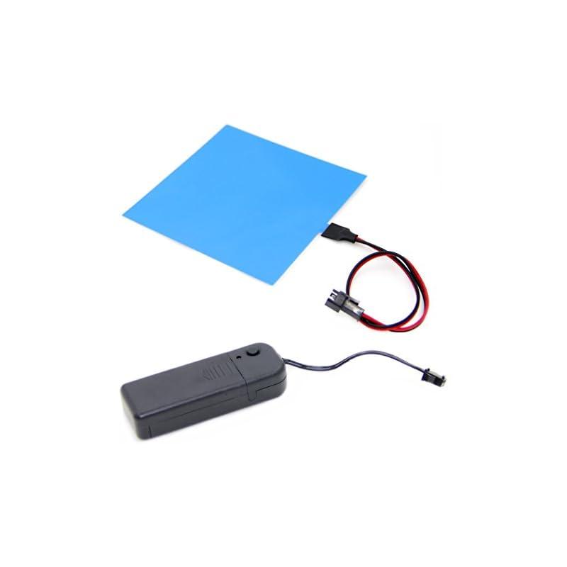 10x10cm El Backlight, El Panel + 3v Cont