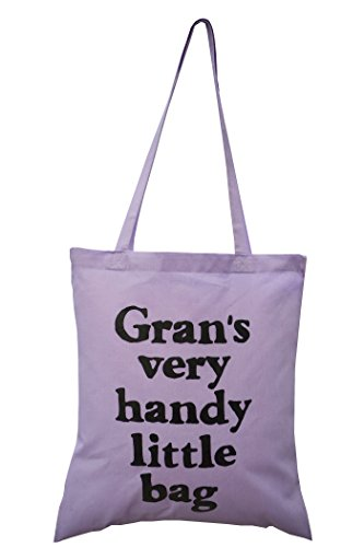 Lavender Gran tote gift bag cotton Perfect for CqtxCH