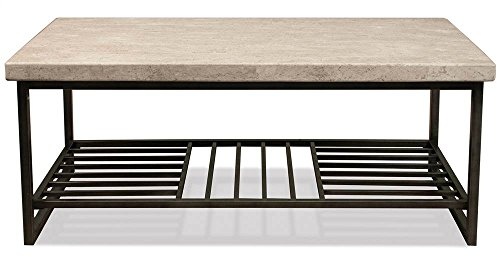 - Riverside Furniture Stone Top Cocktail Table