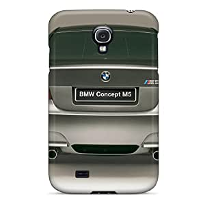 Galaxy S4 Cases Covers - Slim Fit Tpu Protector Shock Absorbent Cases (bmw M5 Concept Rear)
