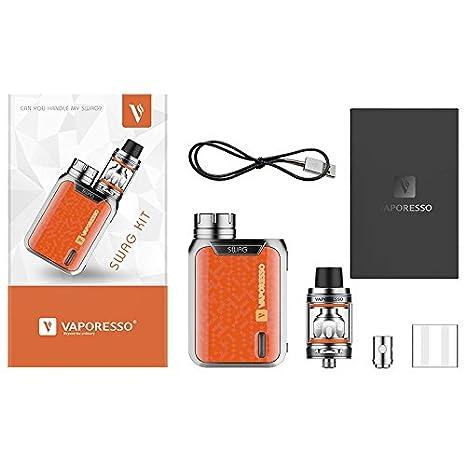 Vaporesso Swag (Azul) 80W TC Kit con NRG SE Mini Tanque 2ml, Este producto no contiene nicotina ni tabaco: Amazon.es: Salud y cuidado personal