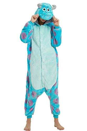Sulley Adult Onesie, Sully Costume for Women, Men and Teens.S]()