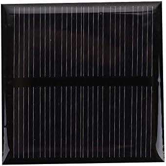 Z.L.FFLZ Mini Solar-Panel 3V 0.36W Mini-Solarzelle Solar Panel Standard-Epoxy Polykristalline Silizium DIY Batterieleistung Lademodul