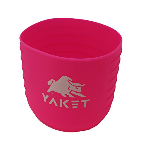 - YAKET Grip for YETI Rambler Tumbler (Flamingo Pink, 30 oz.)