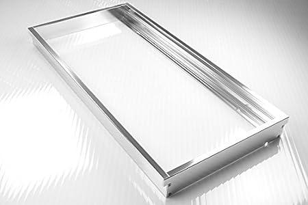 lumixon led panel rahmen 120x30x5cm achtung au enma des led panel beachten. Black Bedroom Furniture Sets. Home Design Ideas