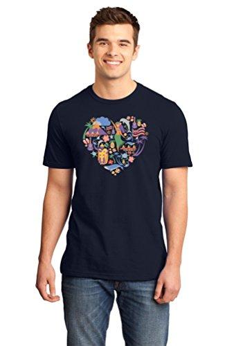 Hawaii Icon Heart - Hawaiian Love Heritage Culture Pride Cute Unisex T-shirt