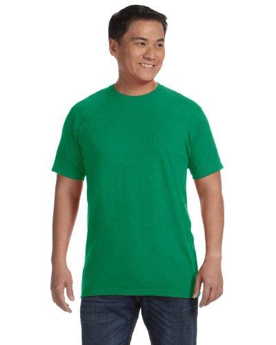 Anvil Men'S 4.5 Oz., 100% Organic Ringspun Cotton T-Shirt, Green, 3Xl