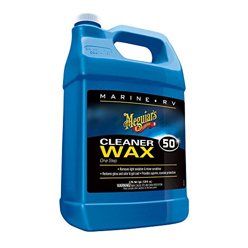 Meguiar's Boat/rv Cleaner Wax Liquid 1 Gal