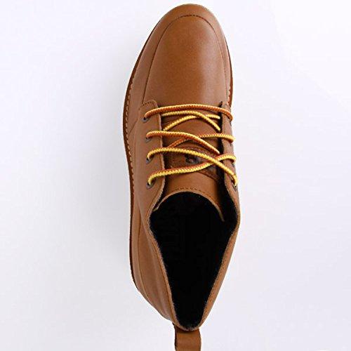 HUB Jensen LN Leather NT Lumberjack Cognac White 45 Brown