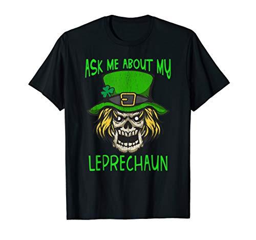 Scary Creepy Leprechaun Funny T-Shirt St. Patricks Day Gift]()
